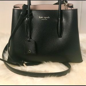 Kate Spade ♠️NWT Small Cross Body Black Satchel